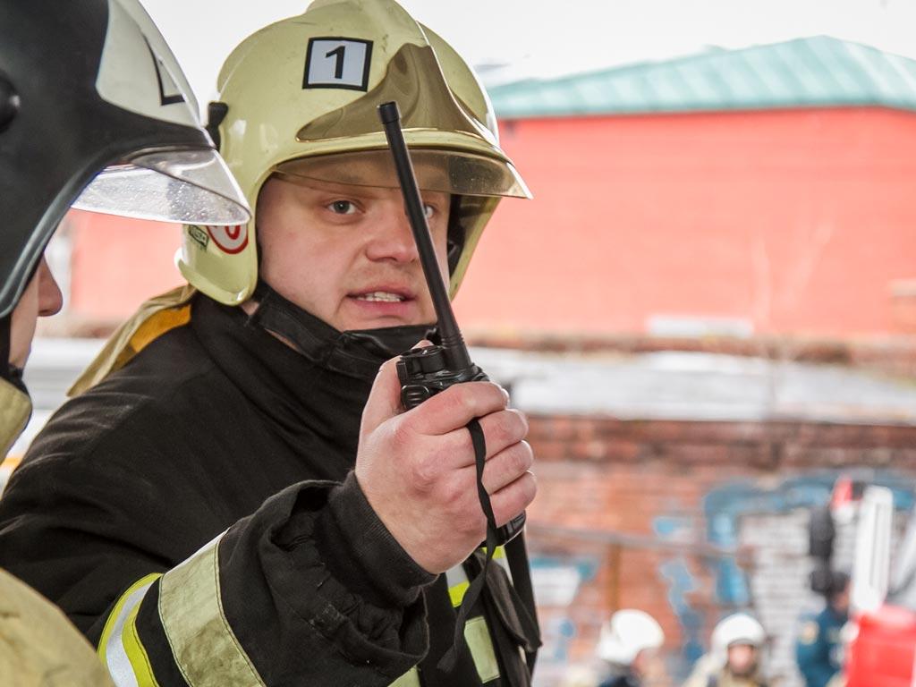Начальник пожарно-спасательного гарнизона