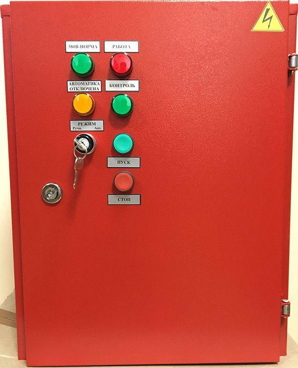 Шкаф управления вентилятором дымоудаления или подпора воздуха ШУВ-1