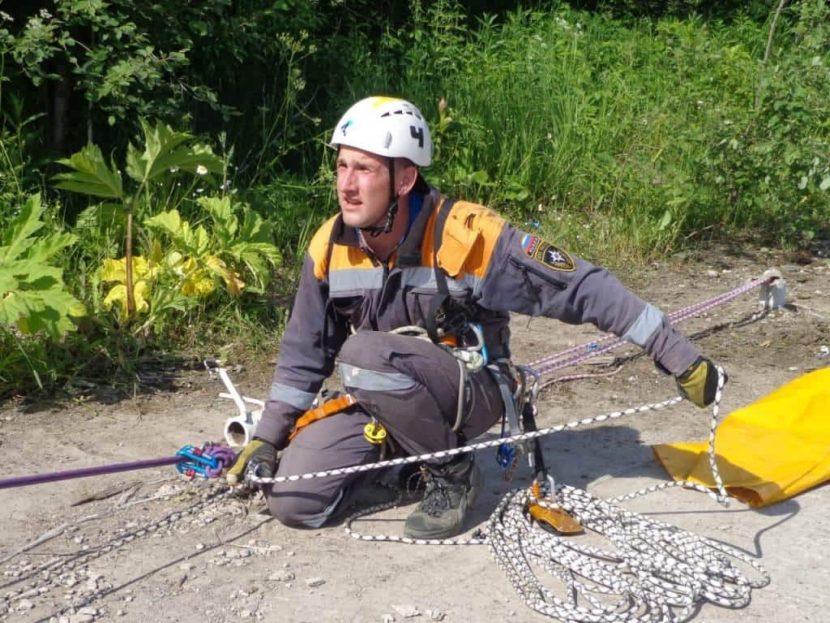 Лучшим спасателем МЧС России в 2019 году признан Антон Хашабаев из Ставропольского края