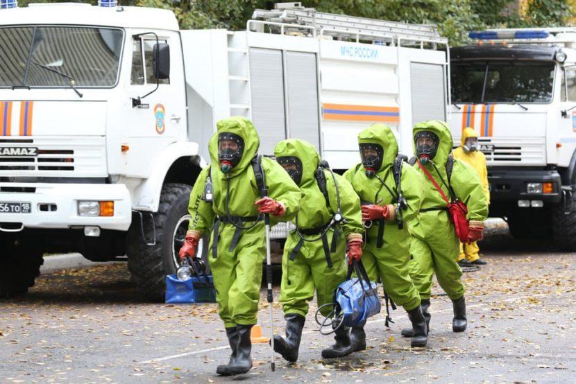 13 ноября 101 годовщину отмечают специалисты радиационной, химической и биологической защиты