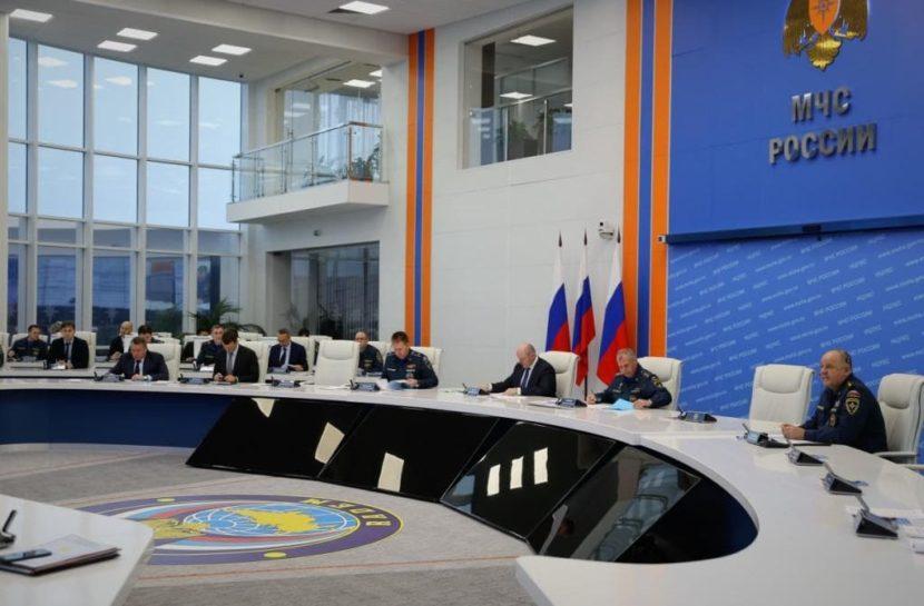 МЧС России держит на контроле пожароопасную обстановку в четырех субъектах РФ