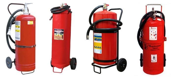 Огнетушитель ОП-50(з) от различных производителей