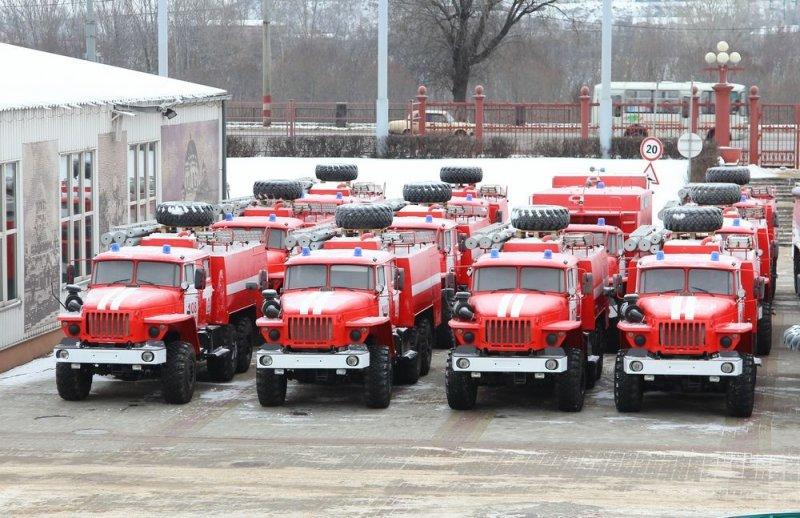 МЧС России продолжает оснащать подразделения новой спецтехникой и оборудованием