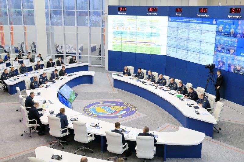 Условные ЧС на объектах транспортной инфраструктуры ликвидируют в рамках крупномасштабных учений МЧС России