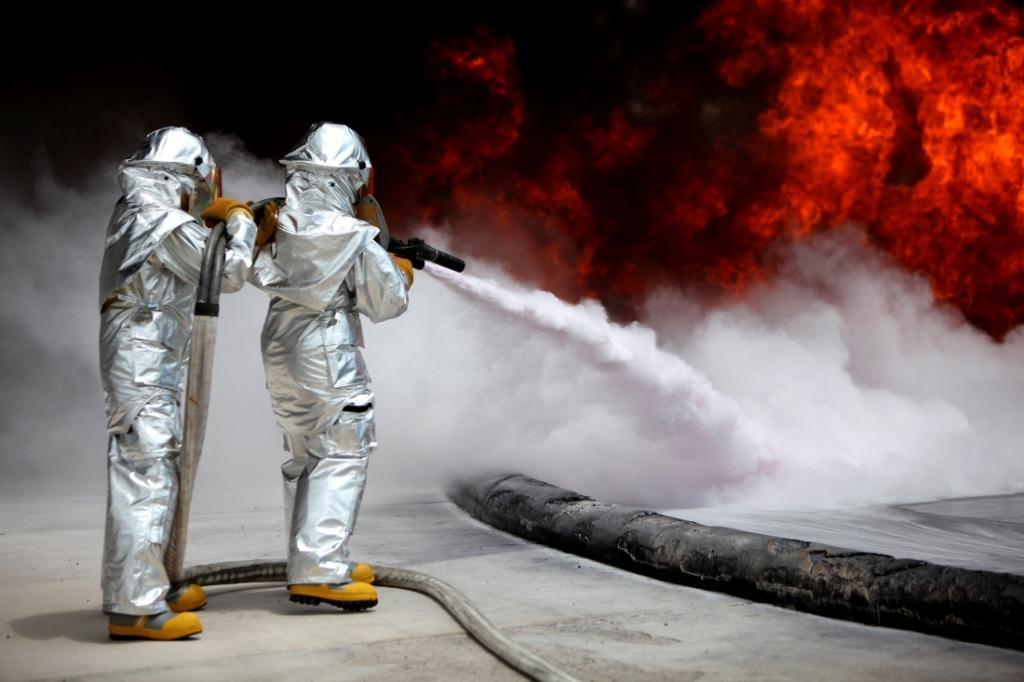 Подача огнетушащих веществ изоляции