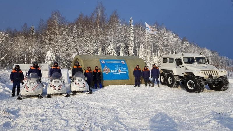 В Свердловской области проходит снегоходный марафон «Путь вогула»