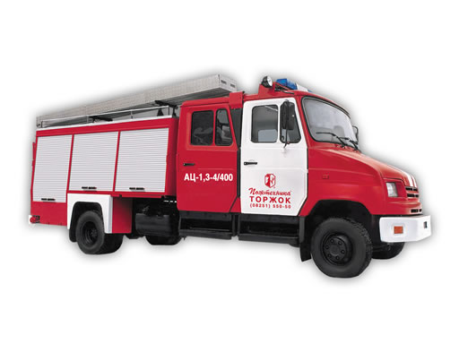 Автоцистерна пожарная легкого типа АЦ