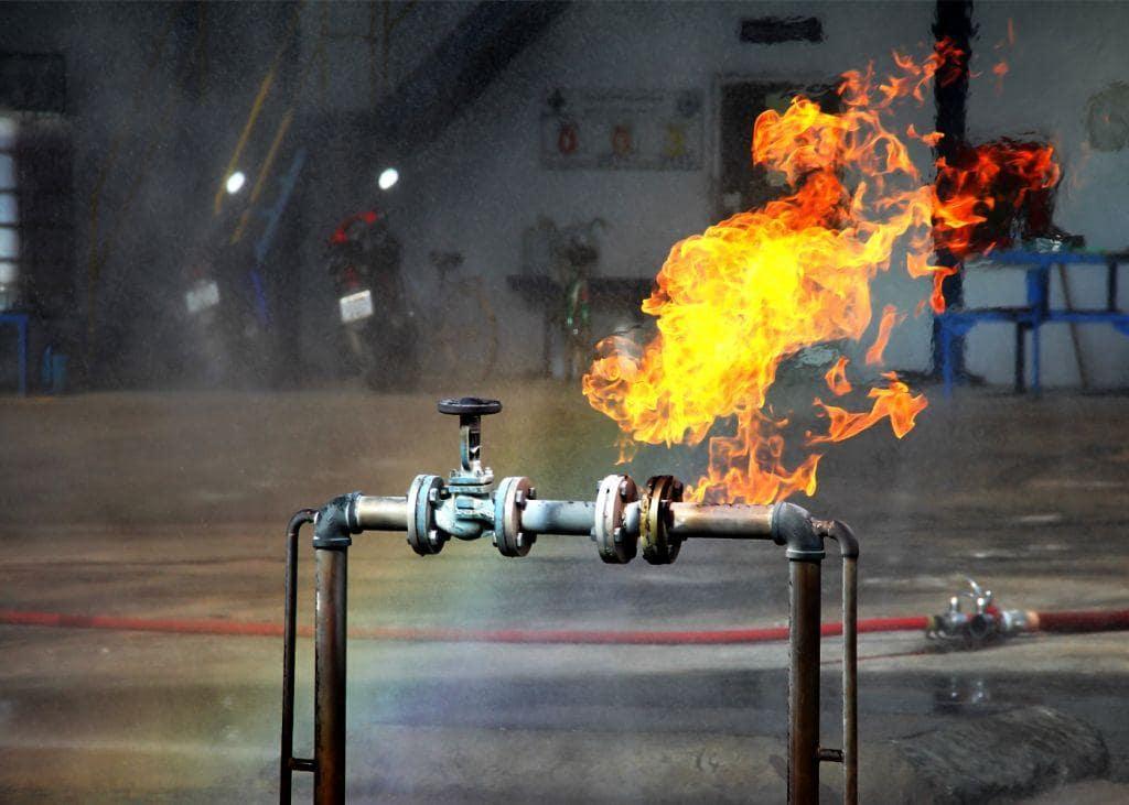 Пожарная опасность горючих газов