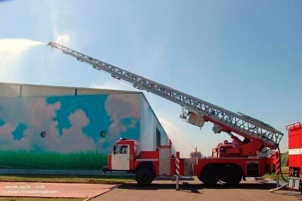 Автолестница пожарная АЛ-50 (65115)