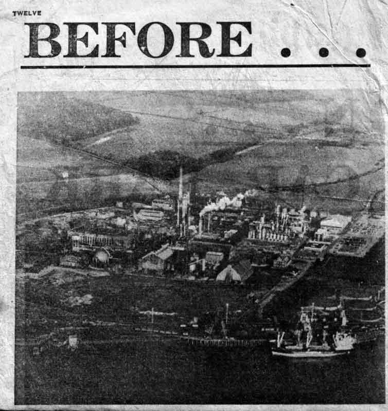 Фото из газеты Scunthorpe Evening Telegraph