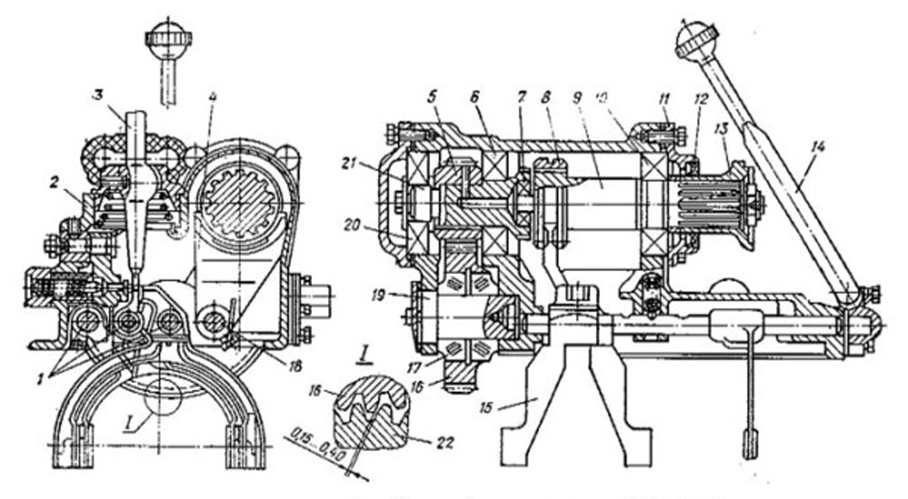 Коробка отбора мощности КОМ-68Б