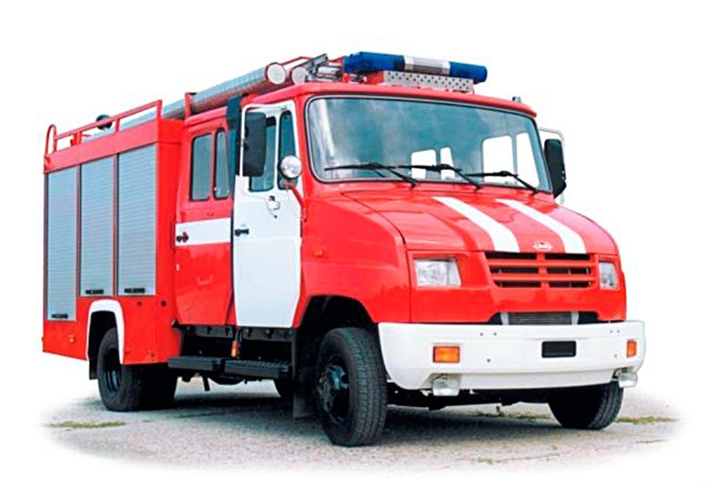 Пожарная автоцистерна АЦ-0.8-40/2 (530104)