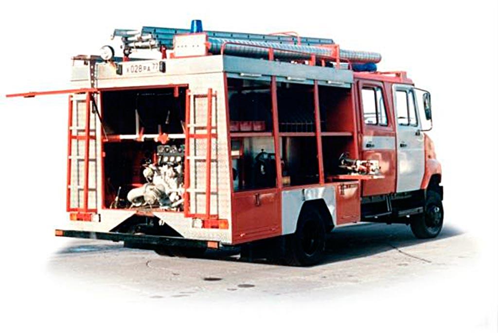 Пожарная машина АЦ-0.8-40/2 (530104)