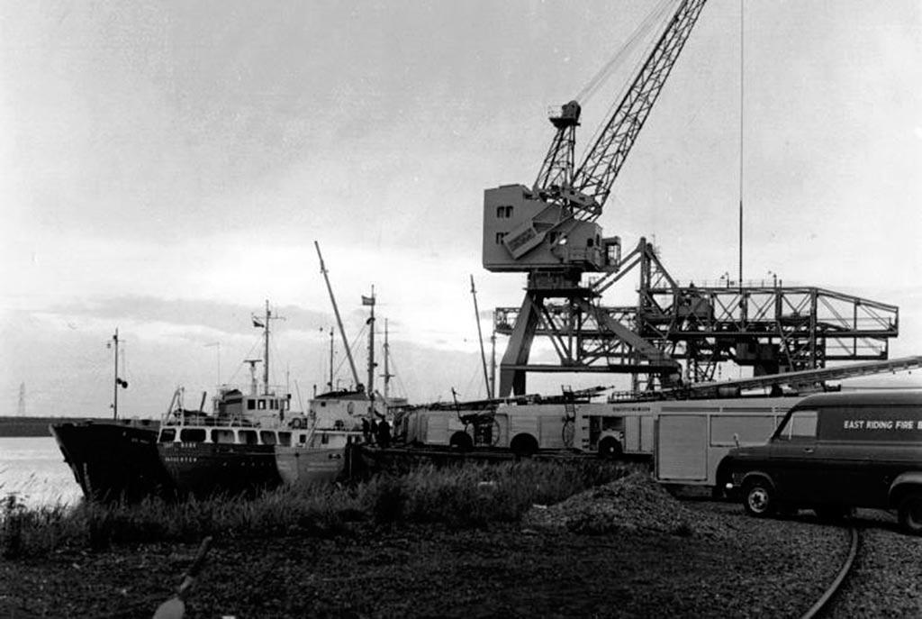 Причал реки Трент 1 июня 1974 года Фликсборо