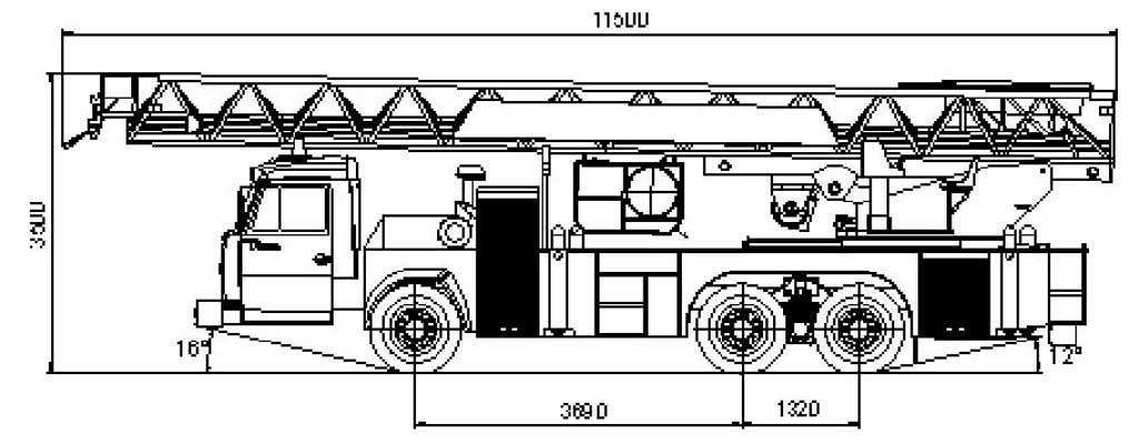 Схема АЛ-50 (65115)