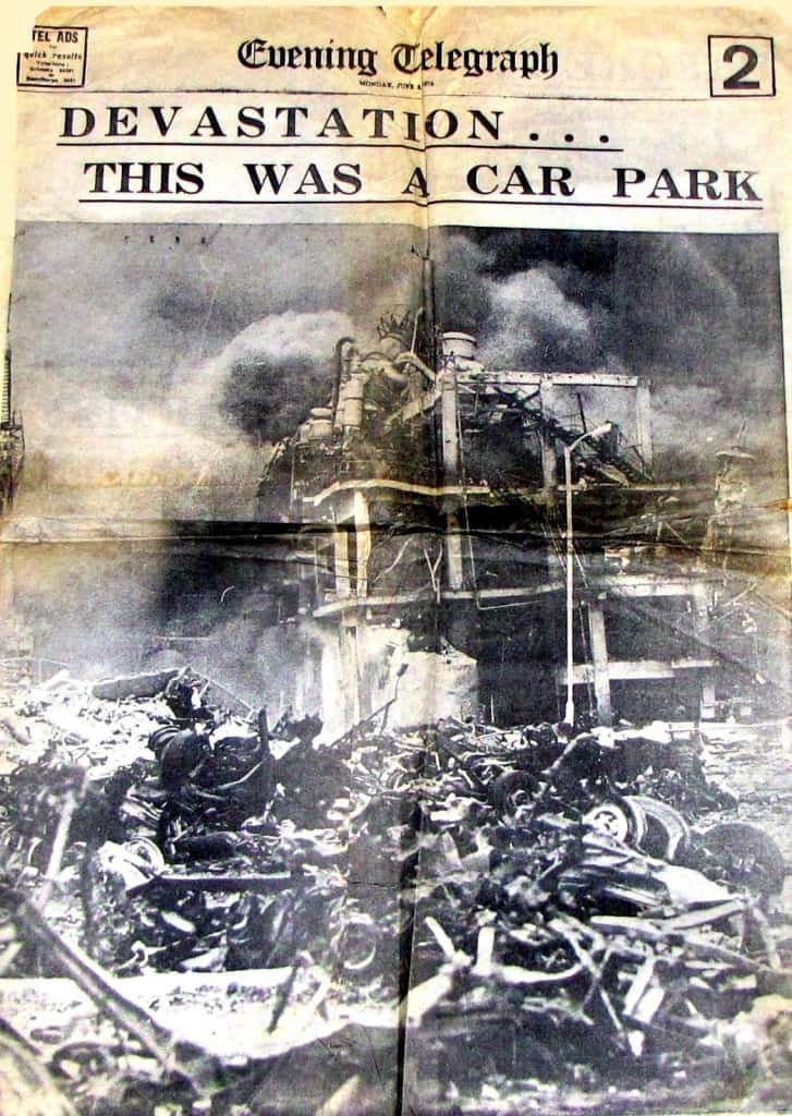 Взрыв завода во Фликсборо