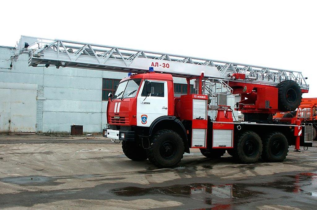 Автолестница пожарная АЛ-30 (43114)