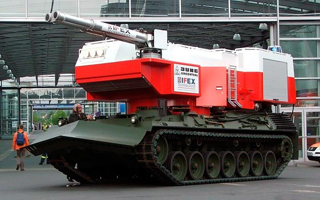 ГБПМ на шасси танка «Леопард»