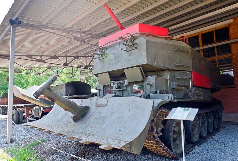Гусеничная пожарная машина ГПМ-54