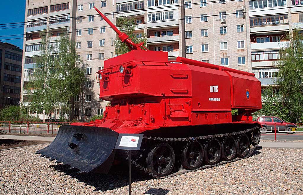 Пожарный танк ГПМ-54