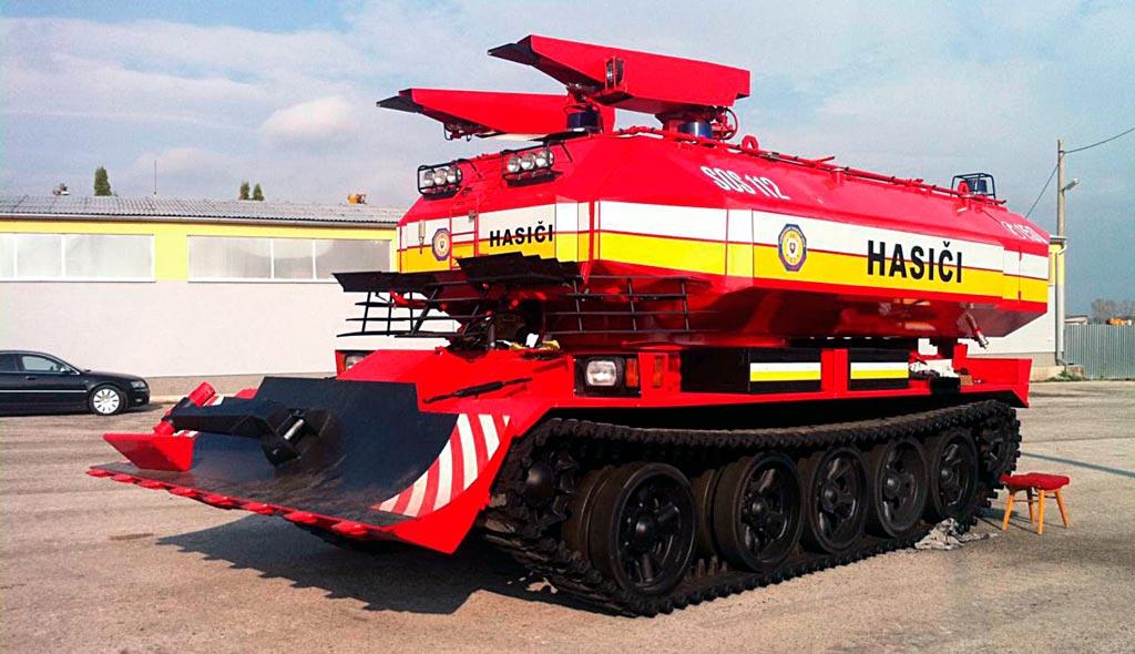 Пожарный танк SPOT-55