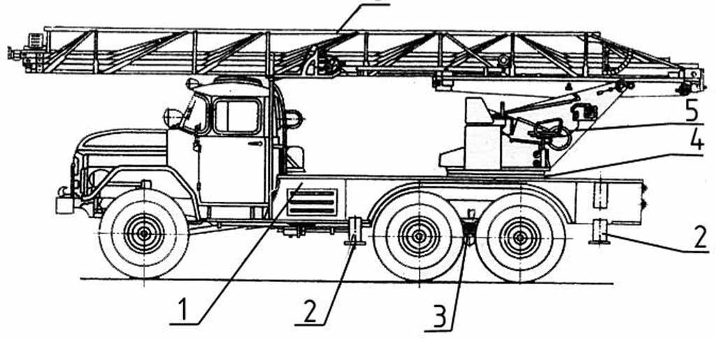 Схема АЛ-30(131)-21Л