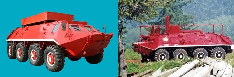 Бронетраснпортер БТР-60ПБ