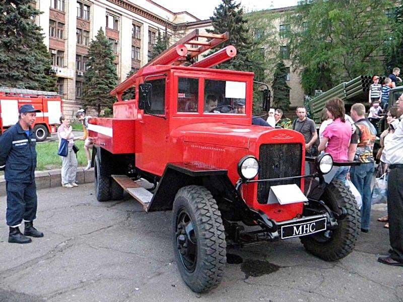 Фотография автоцистерны ПМЗ-2