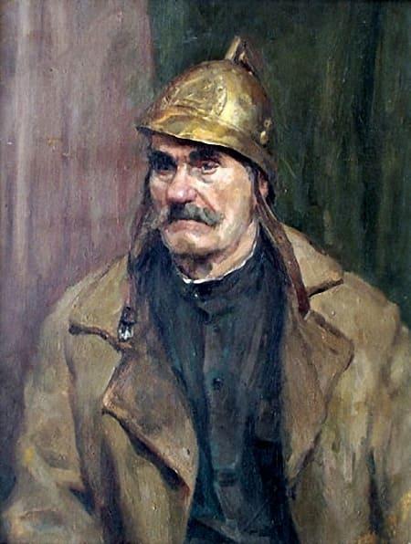 Арлен Кашкуревич Портрет пожарного