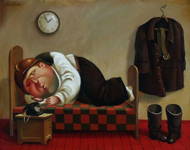 Борис Иванов картина Планета толстяков