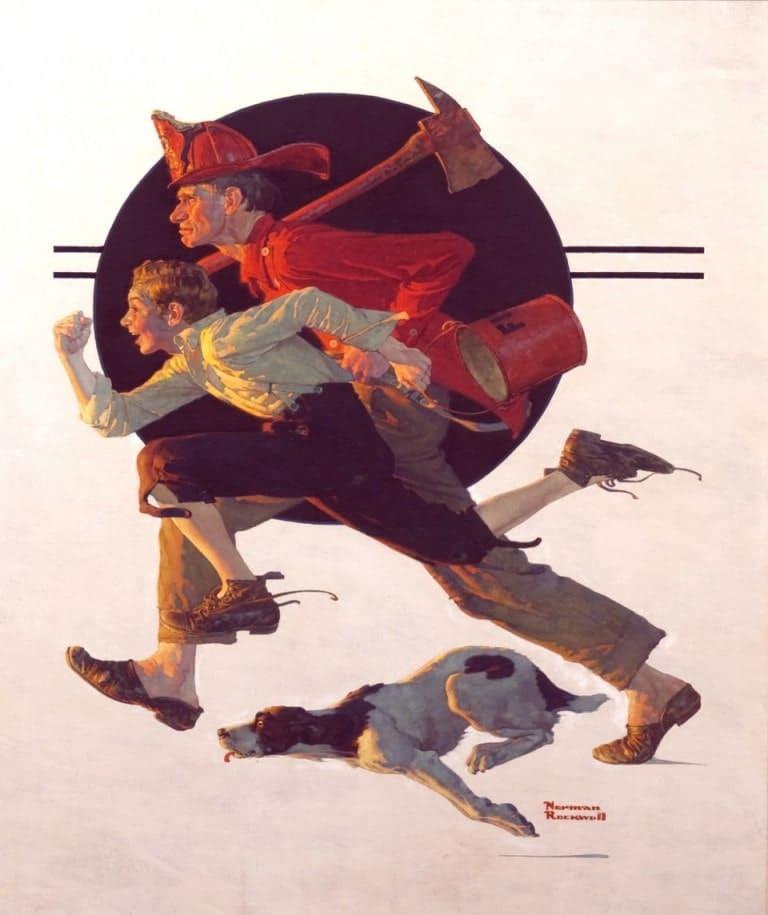 Добровольный пожарный США
