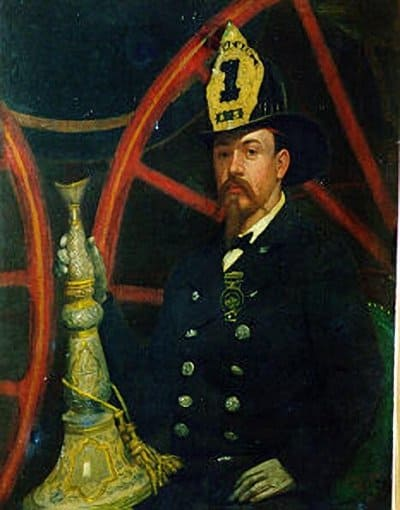 Джулиан Скотт Портрет пожарного
