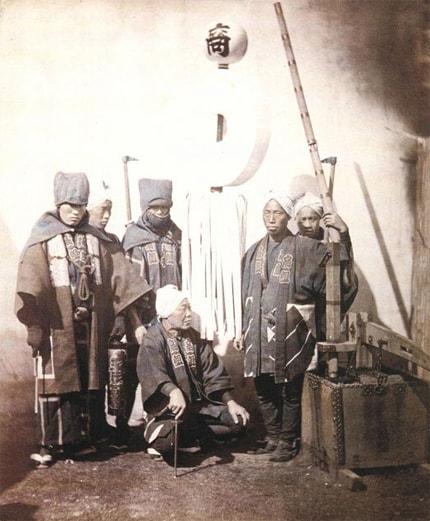Групповая фотография хикеси 19 века