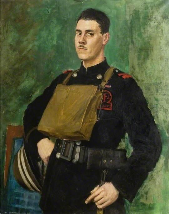 Портрет офицера пожарной службы Чемсхолда