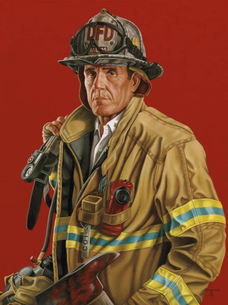 Портрет шефа пожарного батальона