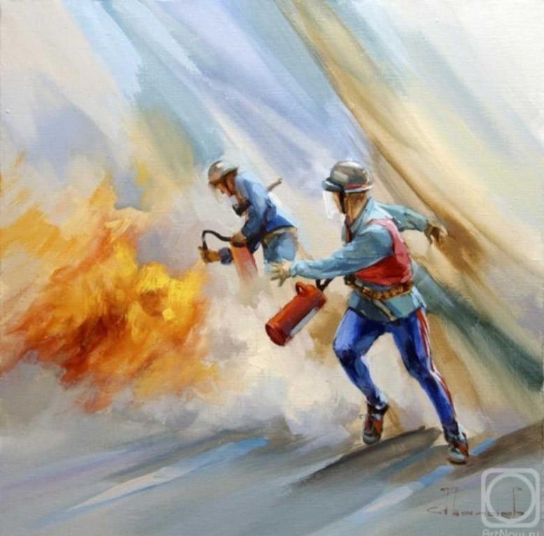Шалаев Алексей Игры огнеборцев
