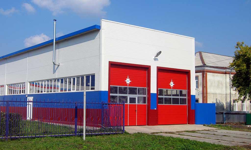 Ворота пожарной части