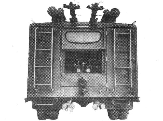 АХП-2,4 (151) модель 16 вид сзади
