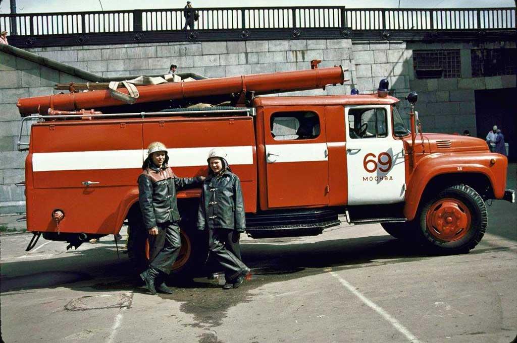 Пожарный автомобиль АЦ-30(130)63А (1987 год)