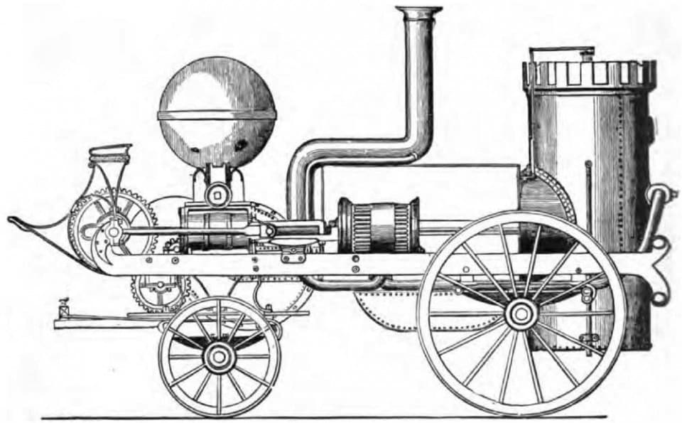 Четвертая машины Брэйтуэйта Comet (Комета), 1832 год