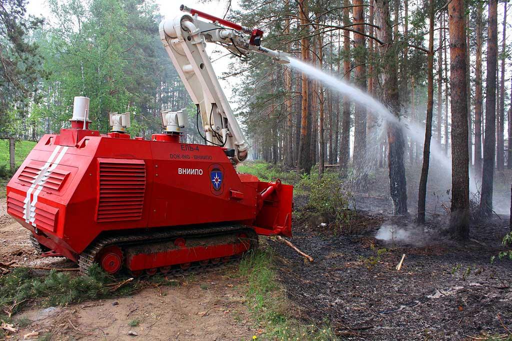 РТК ЕЛЬ-4 (тушение лесного пожара)