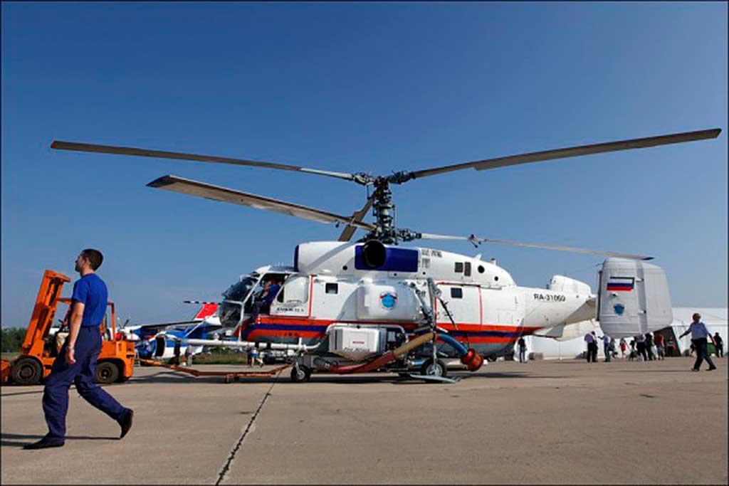 Ка-32А с установкой Fire Attack