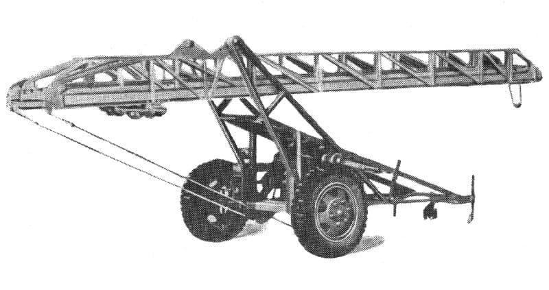 Лестница прицепная ЛП-18 модель ЛЖ