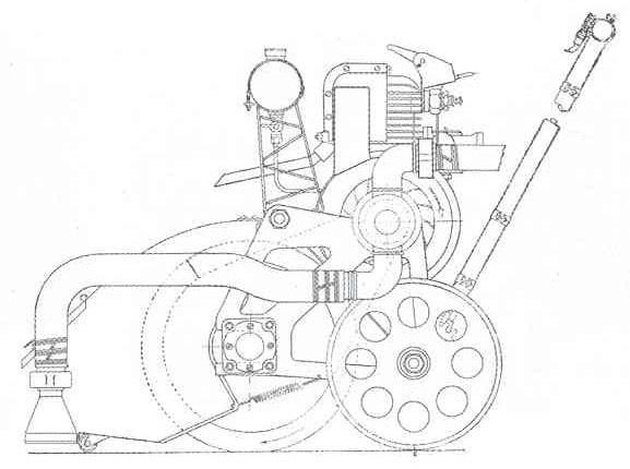 Механическая щетка (водонасос) для уборки излишков воды