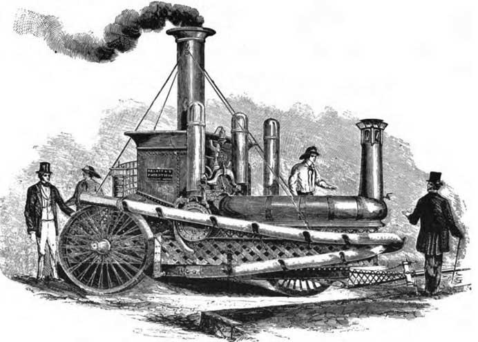 Паровая пожарная машина, построенная фирмой A. B. and E. Latta