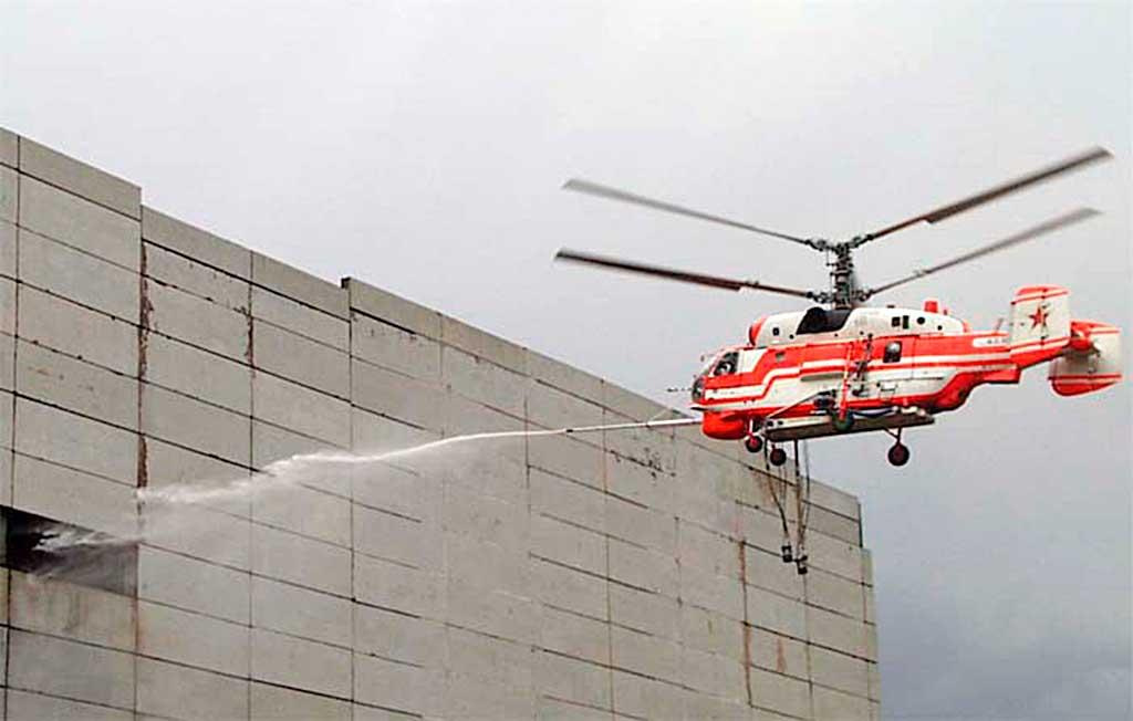 Пожарный вертолет Ка-32А1
