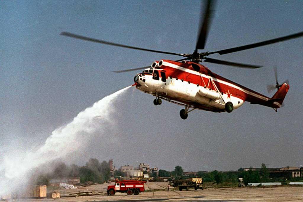 Пожарный вертолет Ми-6 ПЖ2