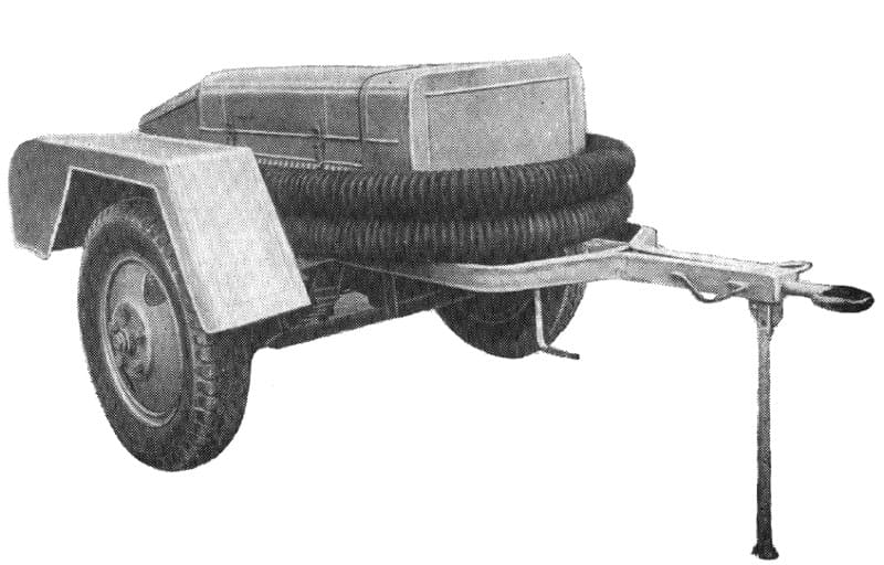 Прицепная мотопомпа ММ-1200