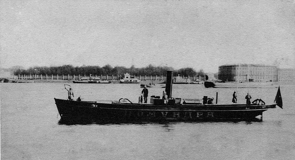 Пожарный пароход Полундра