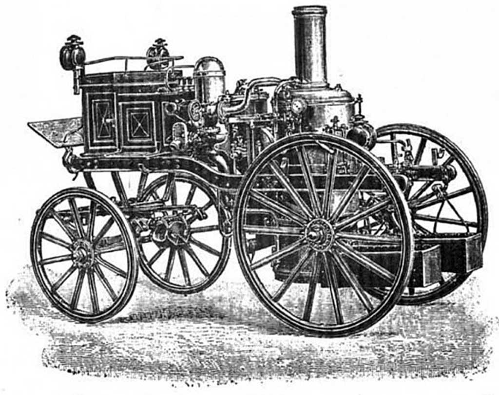 Паровая машина системы Бедюве